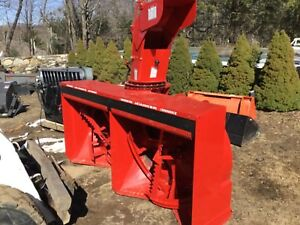 Snow Blower Three Point Hitch Pto 70 To 120 Hp Agrimetal 4692