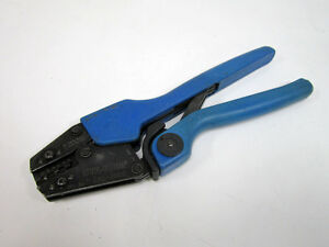 Thomas Betts Erg 2002 Comfort Terminal Crimper T b 22 10 Awg Wire C