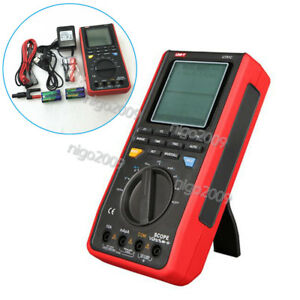 Auto Range Scope Meter Handheld Oscilloscope Multimeter 16mhz 80ms s Uni t Ut81c