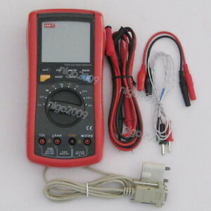 Uni t Ut109 Handheld Automotive Multi purpose Meter Ac Dc Voltage Multimeter