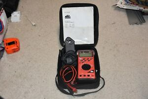 Mac Tools Em710 Multimeter With Case And Accessories