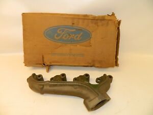 New Oem 1970 s Ford Torino Mustang Exhaust Manifold Assembly Nos Boxed