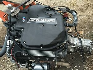 Bmw E39 M5 S62 396 Horse Power Engine Motor Manual Transmission Ecu Tested