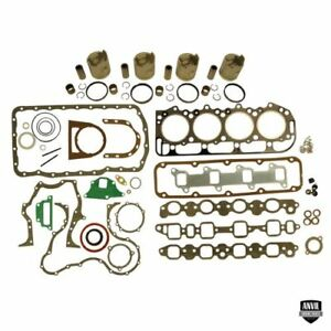 Engine Base Kit For Ford Tractor 233 Diesel Engine 5000 5600
