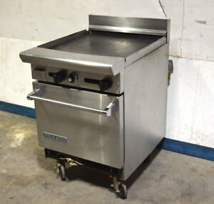 American Range 24 Gas Griddle Oven 24 wx32 dx40 h Lo 500 f 2 burn grid Nat