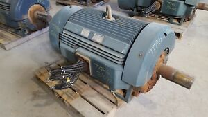 500 Hp Toshiba Electric Motor 1800 Rpm 5010uz Frame Tefc 460v Eqp Global Sd