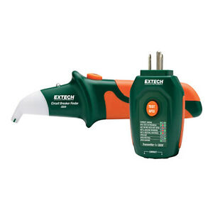 Extech Cb20 Circuit Breaker Finder receptacle Tester