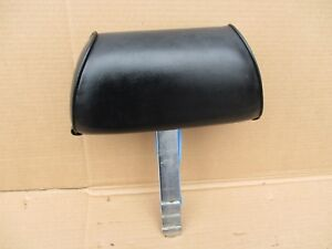 1969 1970 Ford Mustang Cougar Seats Seat Black Headrest No Rips Or Tears 1 Oem