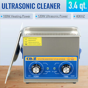 10l Professional Ultrasonic Cleaner Jewelry Cleaning Machine W Heater Timer
