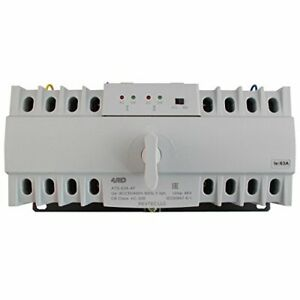 4pro Ats 63a 4p Automatic Changeover Transfer Switch 4 Pole 63a 120 208v 50