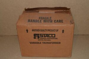 Staco Energy Products Inc Variable Autotransformer Type 1510 New