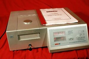 Unico Uv 2100 Spectrophotometer