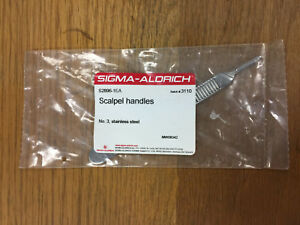 Sigma aldrich S2896 No 3 Scalpel Handle Stainless Steel 5 Length