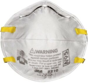 N95 Paint Sanding Respirator Dust Face Mask Safety Protection 2 Pack Case Of 12