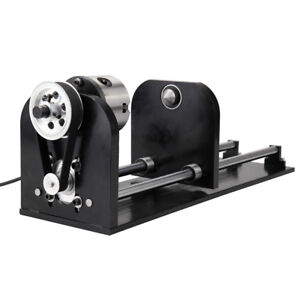 Irregular Laser Rotary Axis For 60w 100w Co2 Laser Engraving Cutting Machine