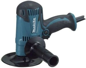 Makita 4.2 Amp 5 In. Corded Lightweight Compact Disc Sander Disc Pad Side Handle
