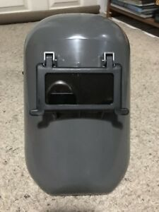 New Fibre metal 5906gyp Grey Welding Helmet