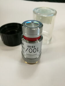 Lens For A Microscope 100 ph3 Oil Vickers Microplan