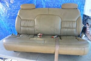 1992 1999 Chevrolet Suburban Tan Leather Third Row Seat