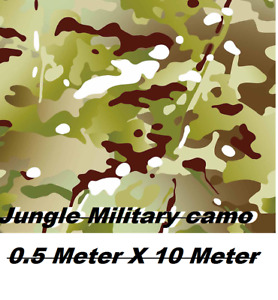 0 5m 10m Jungle Camo Water Transfer Printing Film hydrographic Film Pva Aqua