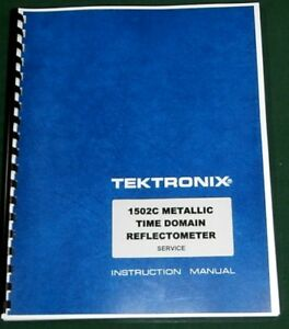 Tektronix 1502c Service Manual W 11 x17 Foldouts Protective Plastic Covers