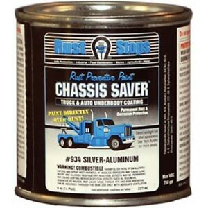Magnet Paint Ucp934 16 Chassis Saver Paint Sliver Aluminum 8 Oz Can