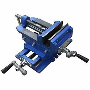 Hardware Factory Store 2 Way 4 inch Drill Press X y Compound Vise Cross Slide
