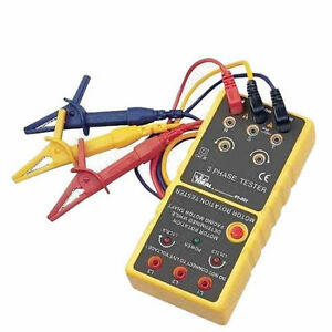 Ideal 61 521 3 Phase motor Rotation Tester