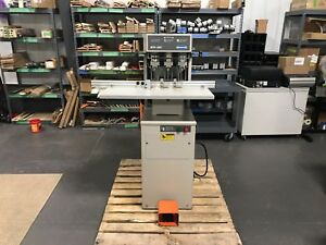 Challenge Eh 3c Paper Drill Fully serviced Tested W Warranty