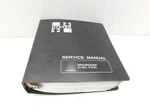 Hyster Spacesaver S135xl S155xl Service Manual Maintenance Repair Book e14 435