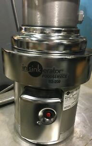 In sink erator 2 Hp Commercial Garbage Disposal 208 230 460v Ss200 29