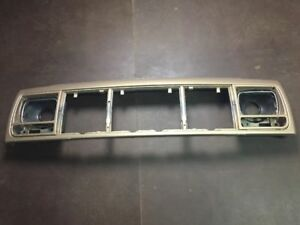 97 01 Jeep Cherokee Xj Sport Classic Header Panel Genuine Oem Gold Needs Paint