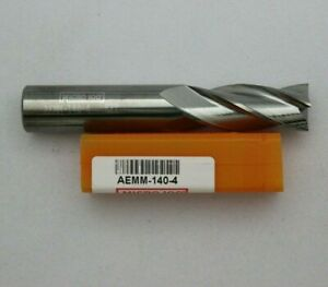 Micro 100 Aemm 140 4 Carbide End Mill Brand New