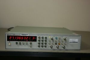 Hp Agilent 5334b Universal Counter Opts 60 Recent Calibration 30 Day Warranty