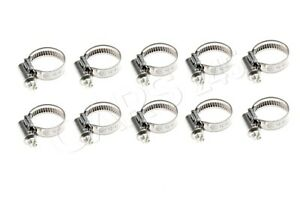 Genuine Hose Clamps X10 Pcs Bmw Mini Alpina Hybrid M1 M3 M5 M6 X1 07129952109