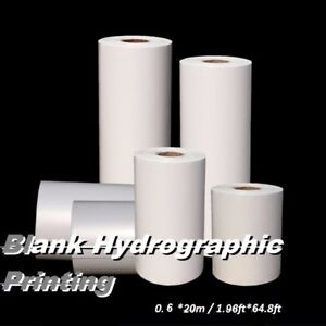 Print Hydrographic Printing Film 0 60 20m Blank Water Transfer Printing Film Kit