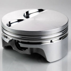 Ross 10cc Dish Pistons 6 2l 4 070 Bore 4 00 Stroke With Pins And Rings Set 8