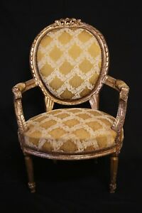 Antique Chair Louis Xvi Medallion Style Chair Imported New Price
