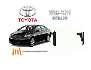 2007 2011 Toyota Yaris Dash Install Kit For Car Stereo With Tool Set
