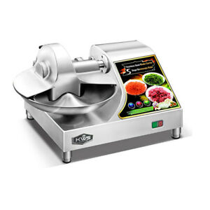 Kws Bc 400 Commercial 1350w 1 5hp Stainless Steel Buffalo Chopper Bowl Cutter