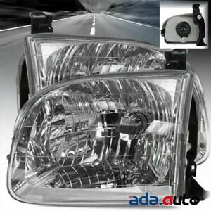 For 2001 2004 Toyota Sequoia 2000 2004 Tundra Double Cab Model Headlights