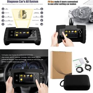 Obd2 Auto Diagnostic Scan Tool Car Full System Scanner Ecu Programming Coding