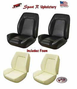 Sport R Front Bucket Seat Upholstery Foam For 1967 68 Camaro Tmi Made In Us