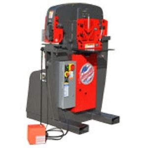 Brand New Edwards 50 Ton Iron Worker jaws Iv Plus 9 Round Punch