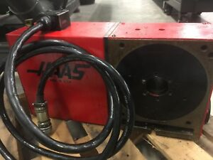Haas Hrt 210 Cnc 4th Axis Rotary with Matching Tail Stock