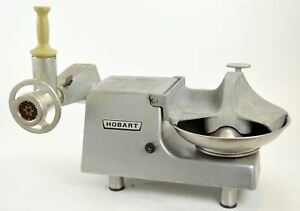 Hobart 84145 Buffalo Chopper Food Processor Cutter Mixer 1 2 Hp Deer Meat Dicer