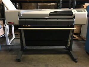 Hp Design Jet 500 Roll Printer w 42 inch Roll Model C7770b