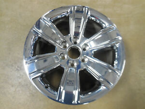 Gmc 1500 Series Sierra 16 17 New Take Off 20 Chrome Clad Wheel 5752 23220753