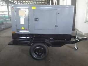 20kw Diesel Trailer Generator Free Shipping Worldwide Africa Carribean So Amer