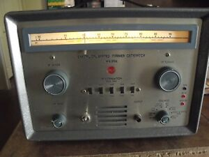 Rca Crystal Calibrated Marker Generator Model Wr 99a